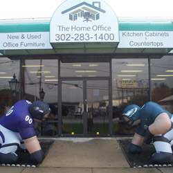 The Home Office Store Front Football