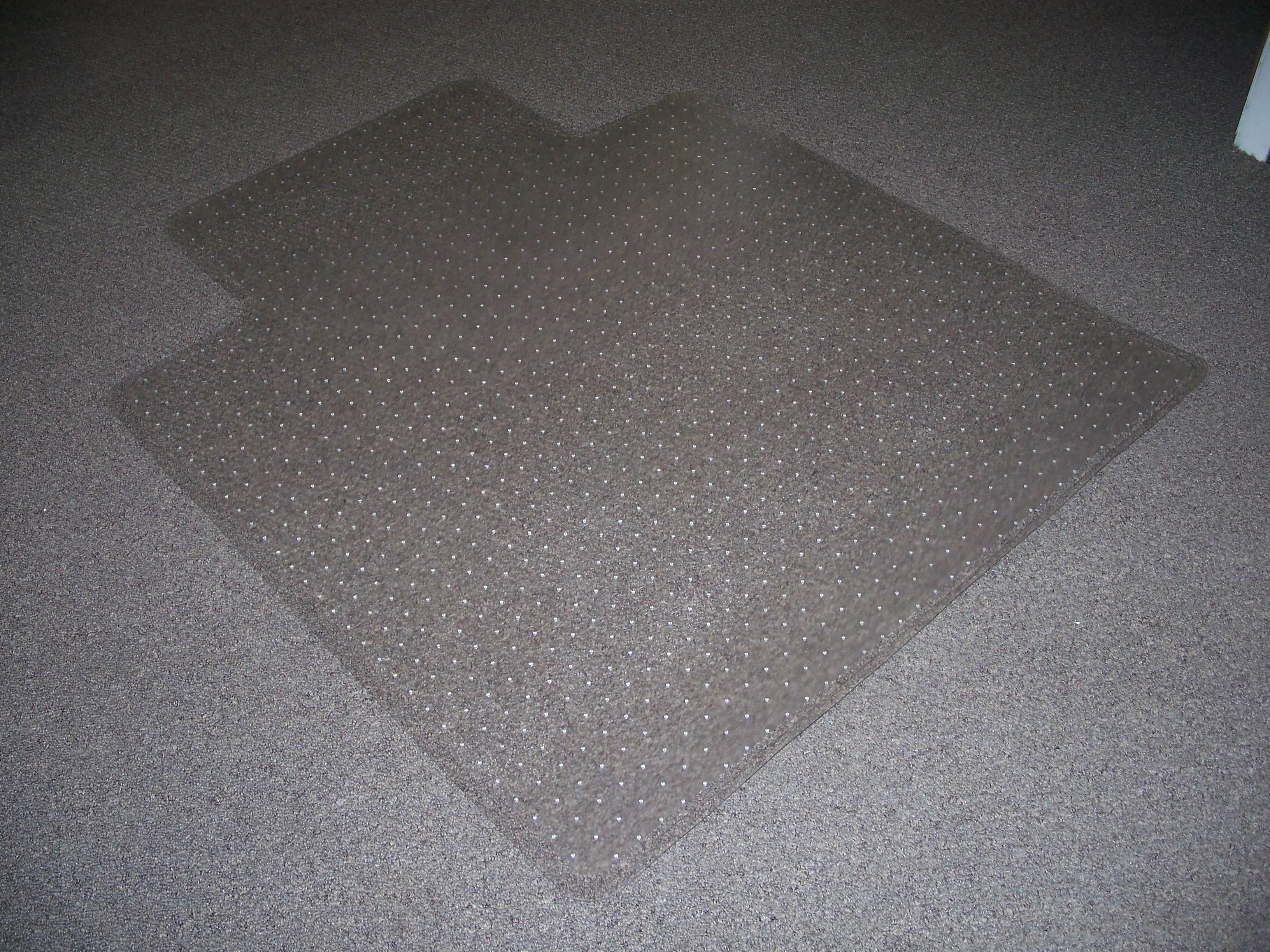Like New 45 X 53 Chair Mats with Mat Grippers and Lip – 45 X 53 Chair Mat